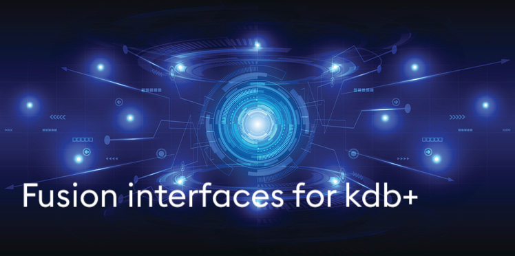 Fusion interfaces for kdb+